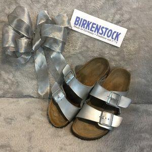 Silver Birkenstock